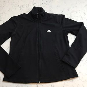 Adidas work out jacket   Black Preloved  M